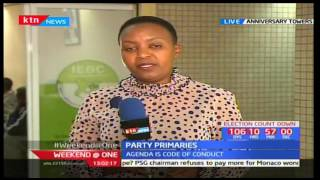 IEBC holds meeting to review progress of party primaries taking place around the country