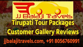 JJ Balaji Travels – Customer Video Gallery Reviews