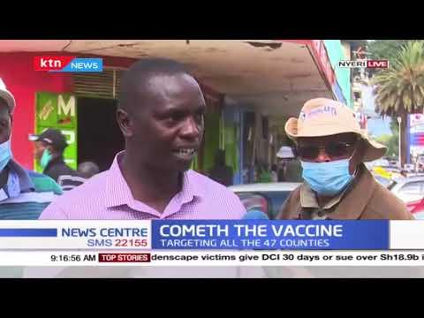 """""""Unaweza dungwa ata maji ukisema ni...hii matibabu ya Corona,"""" Nyeri resident on Covid vaccine"""