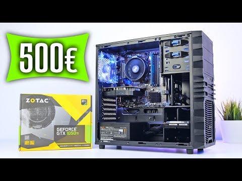500 Euro Gaming PC 2018 TEST - VIEL Leistung kleiner Preis!