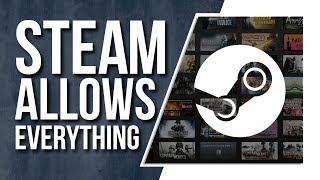 Steam makes policy changes - People are upset