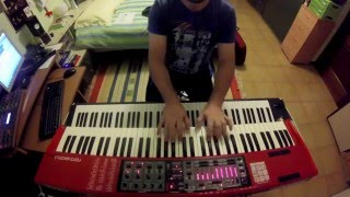 New millennium - Dream Theater keyboard cover