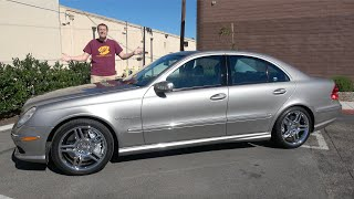The 2004 Mercedes-Benz E55 AMG Started the Horsepower Wars