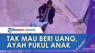 Viral Video Rekaman CCTV Pria di Bandung Aniaya Bocah, Polisi: Pelaku Ternyata Ayah Angkat Korban