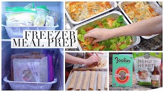 Fill Your Freezer! MORE Healthy Freezer Meals For New Moms! Postpartum Prep
