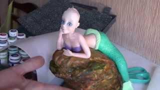 Русалочка сахарная (Sugar figure Mermaid)