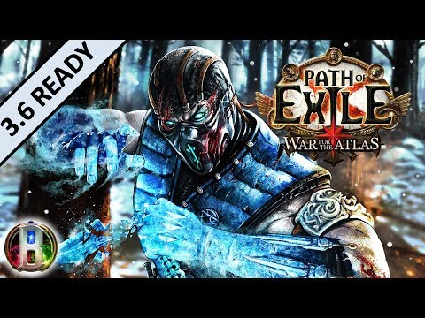 [3.4] Bloodseeker Frost Blades Build - Champion Duelist - Path of Exile War For The Atlas - Delve