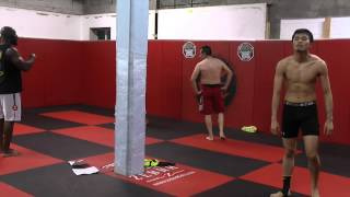 Tabata Workout for MMA, Muay Thai and Kickboxing by Funk Roberts