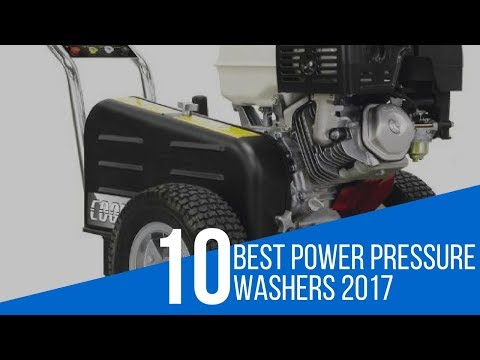 10 Best Power Pressure Washers Review 2017