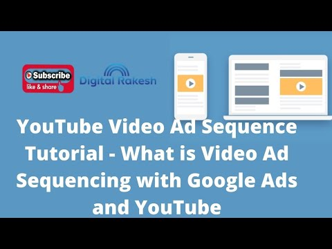 What is Video Ad Sequencing with Google Ads and YouTube