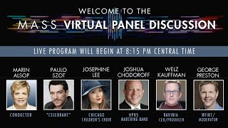 Mass at Ravinia: Virtual Pre-Concert Chat