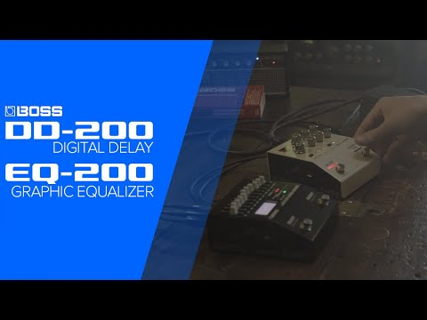 סדרת 200 - אפקטים פרימיום חדשים של BOSS