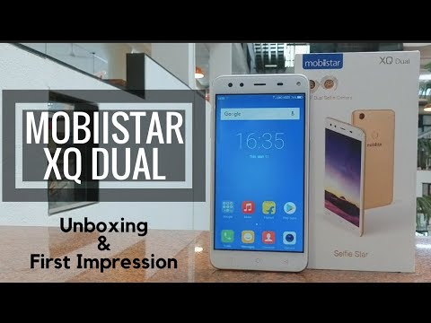 Mobiistar XQ Dual Unboxing & First Impression