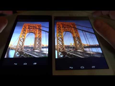 Google Nexus 7 vs LG G Pad 8.3