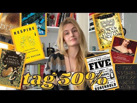 TAG 50%: AS MELHROES E PIORES LEITURAS ATÉ AGORA | Laura Brand