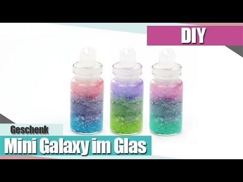 IDIYI Mini Galaxy in der Flasche - DIY Galaxy Bottle I Anielas Fimo