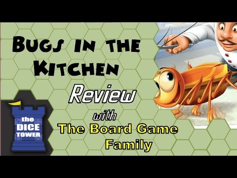Bugs in the Kitchen Review - with the Board Game Family