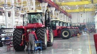 Как производят новый трактор, ставший легендой на полях России: RSM 2375, РОСТСЕЛЬМАШ, 2017