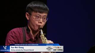Yen Wei Chang plays Échos éclatés by Vincent David
