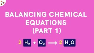 Balancing Chemical Equations Part 1 - CBSE 10