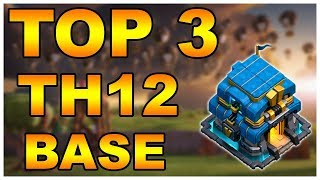 Download TOP 3 NEW TH12 WAR BASE 2019 (Layout) BEST TOWN