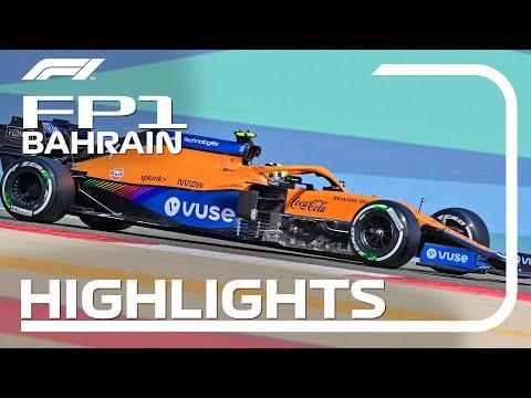 角田裕毅は14番手 F1第1戦バーレーンGP(サクヒール)フリー走行1のハイライト動画