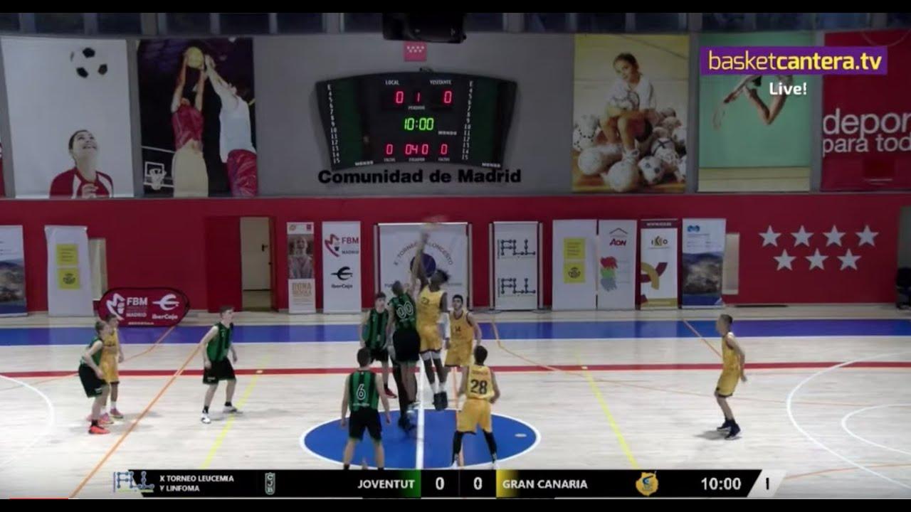U15M - JOVENTUT BADALONA vs GRAN CANARIA - Torneo FLL 2019 (BasketCantera.TV)