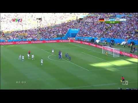 Đức 1-0 Argentina|Messi gục ngã trước Cỗ Xe Tăng|World Cup 2014