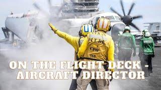 Amazing Navy Jobs - Aircraft Plane Director