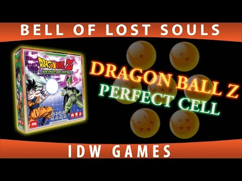 BoLS Unboxing | Dragon Ball Z: Perfect Cell | IDW Games