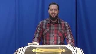 Ps Pax Cordova and the book of Daniel at Mahanaim Life Ministry