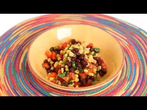 Black Bean Salsa Recipe – Laura Vitale – Laura in the Kitchen Episode 569