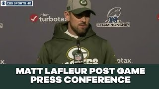Matt LaFleur Post Game Press Conference: NFC Championship | CBS Sports HQ