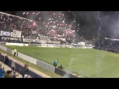 """""""Los caudillos del parque vs all boys- Los momentos de gloria van a volver"""" Barra: Los Caudillos del Parque • Club: Independiente Rivadavia"""