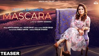 Mascara (Teaser) Arpita Bansal ft. Wazir Singh | Releasing 31st May | White Hill Music