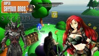 Skyrim mods: МАРИО В СКАЙРИМЕ! SUPER SKYRIM BROS