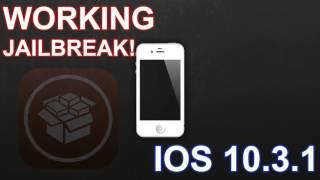 How To Jailbreak iOS 10.3.1 | All iDevices (NEW) | Jailbreak iOS 10.3.1