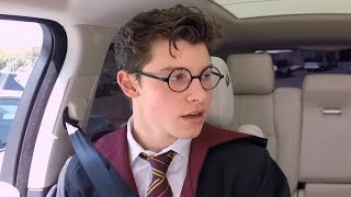 Shawn Mendes Brings Harry Potter Magic To Carpool Karaoke!