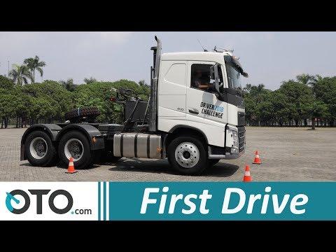 Volvo Truck FH16 | First Drive | Menjajal Truk Bermesin 16.000 cc | OTO.com
