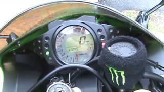 2007 Kawasaki ZX10R / Akrapovic Exhaust