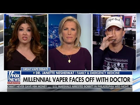 Vaping Millennial trolls Fox News