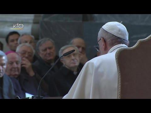 Rencontre du Pape François avec les curés de Rome