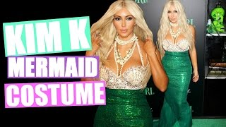 Kim Kardashian Mermaid Halloween Costume!! | DIY Halloween Costume