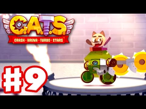 Download CATS: Crash Arena Turbo Stars - Gameplay