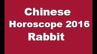 Chinese Horoscope 2016 Rabbit