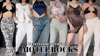 OUTFITS YOU NEED FROM MOTEL ROCKS W/ 30% OFF DISCOUNT CODE | TRY ON HAUL | AD