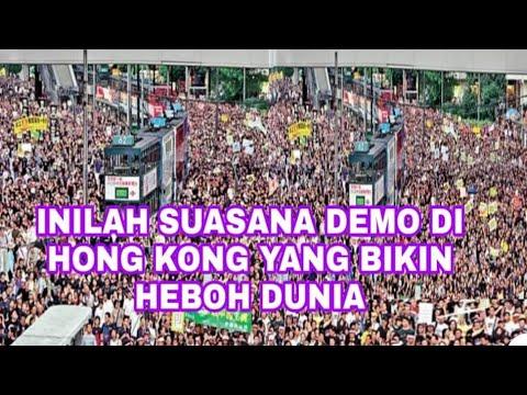 DEMO BESAR BESARAN DI HONGKONG | #AntiExtraditionProtest #NoChinaExtradition