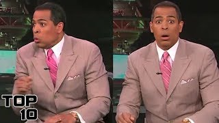 Top 10 News Anchors Freaking Out LIVE On Air