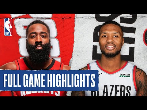 ROCKETS at TRAIL BLAZERS | FULL GAME HIGHLIGHTS | August 4, 2020