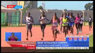 Nyandarua's Hannah Wanjiku wins in deaf athletics championships